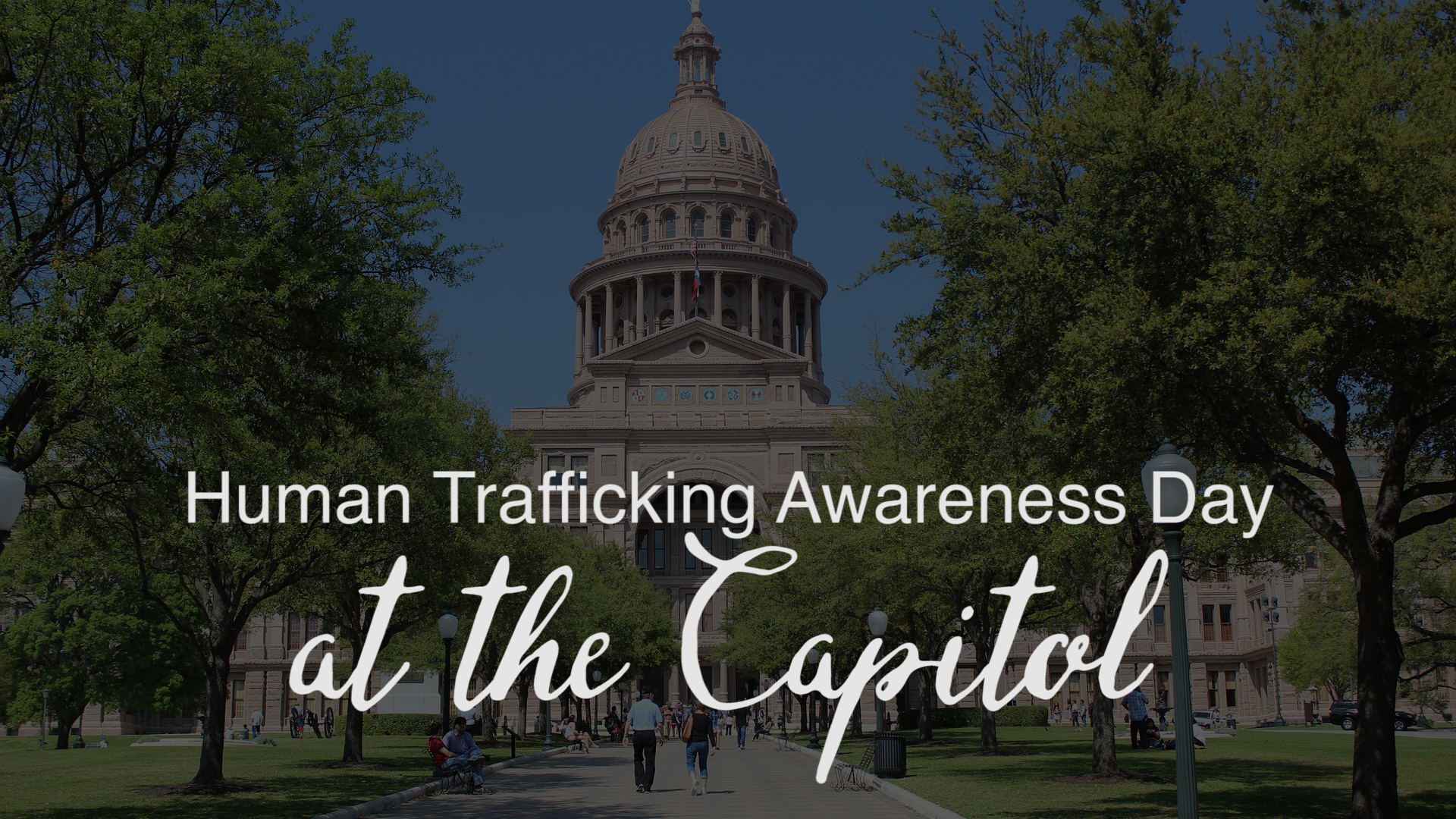 Human Trafficking Awareness Month Part 4 – Advocacy Day VLOG