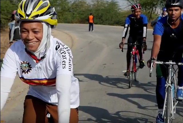 Keep Going: Female Cyclist Introduces Sport to Jordanian Women