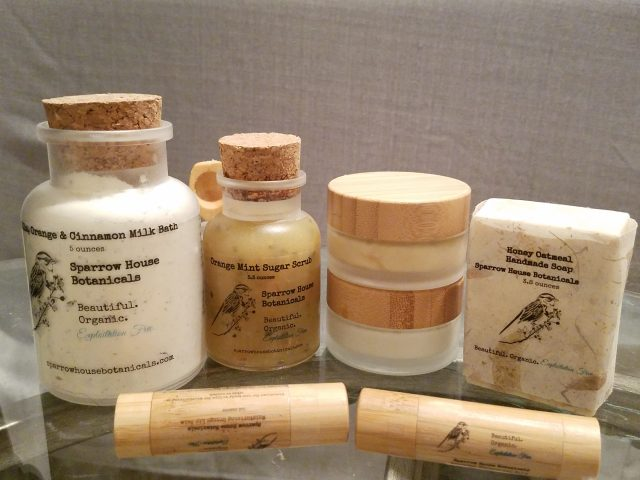 Socially Conscious Gifts from Sparrow House Botanicals